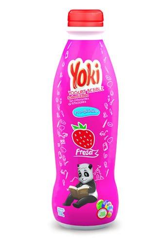 Yoki bebible Fresa 32oz