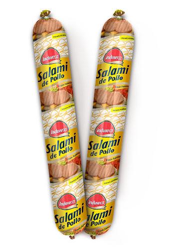Salami de Pollo Induveca