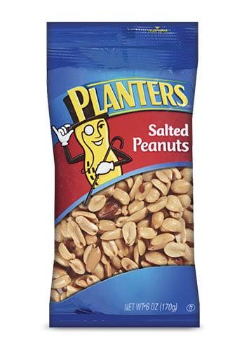 Planters Salted Peanuts 6oz