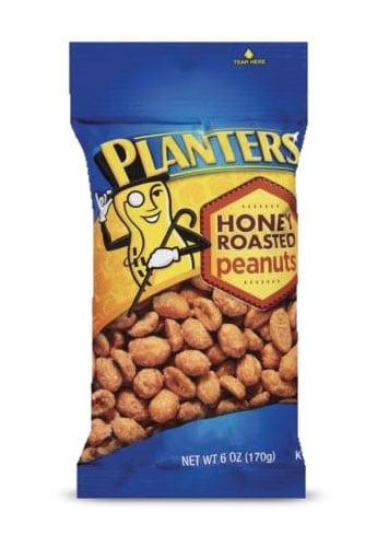 Planters Honey Roasted Peanuts 6oz