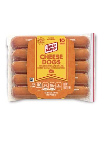 Oscar Mayer Cheese Dogs 10 servings