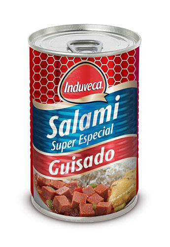 Salami Guisado Induveca Lata