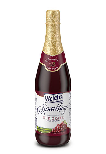 Welch's Sparkling Red Grape Juice 25.4 Oz