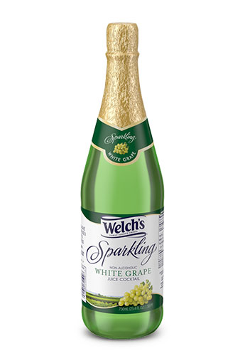 Welch's Sparkling White Grape Juice 25.4 Oz